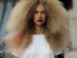 kabarık saç